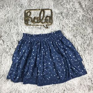 Gap Kids Tiered Star Print Skirt Size 8